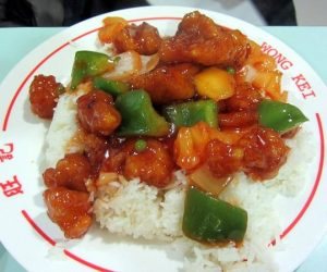 酢豚-Sweet and sour pork