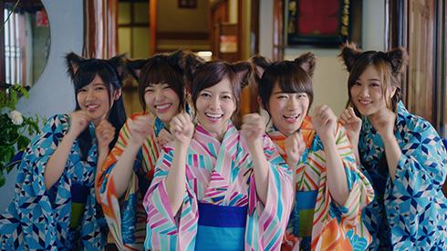 乃木坂46のじゃらんCMは猫耳姿!誰が演出で乃木夏ダンスを振り付け?