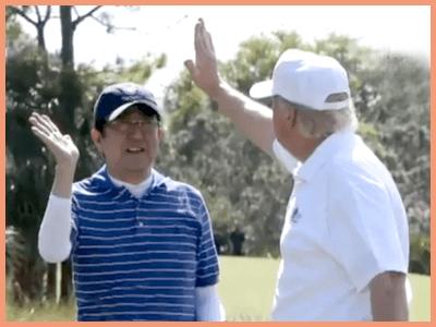 トランプ大統領来日で着用のゴルフウェアブランドは?ファッション服装